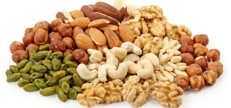 frutos gordos e oleoginosos