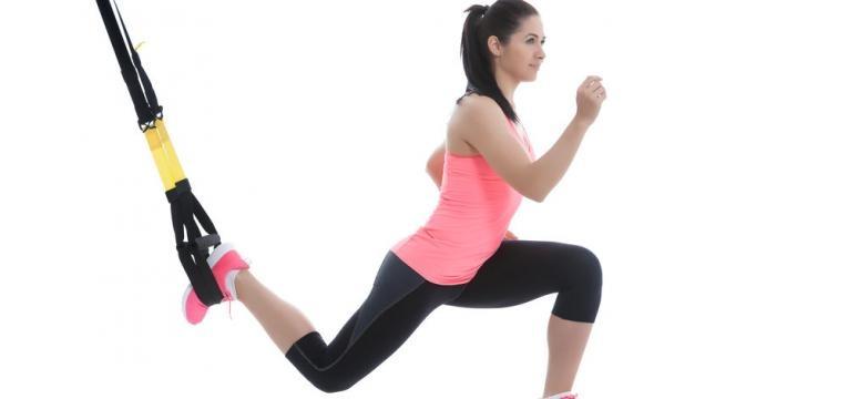 Exercicios com trx para pernas e lunge