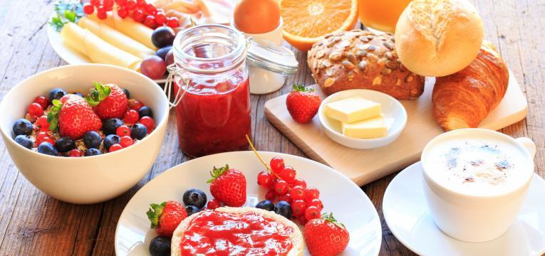 pequeno-almoço e dieta-pós parto