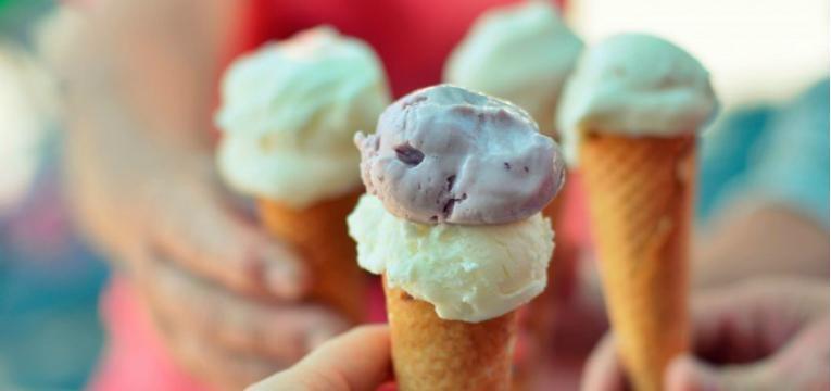gelados no verao