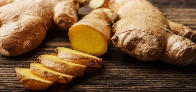 alimentos para prevenir a enxaqueca gengibre