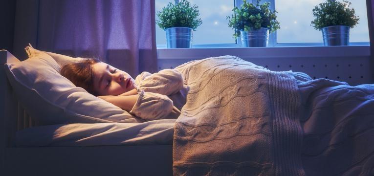 ambiente ideal para o sono
