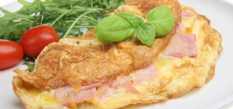 omelete com whey protein