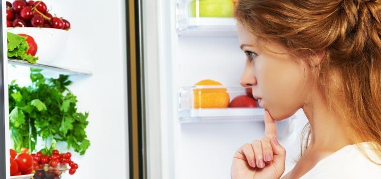 alimentos saudaveis no frigorifico