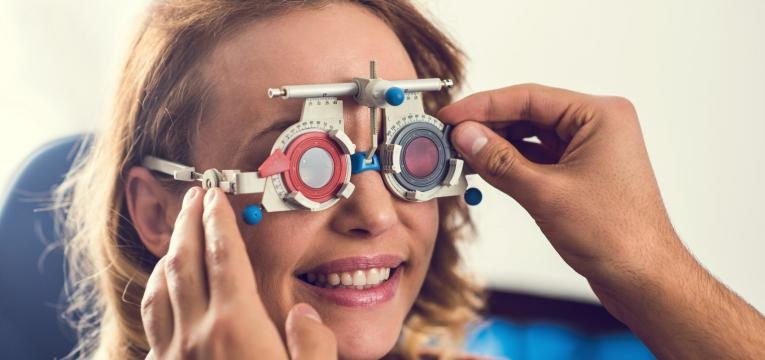 Teste para a miopia
