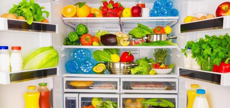 escolhas saudaveis no frigorifico