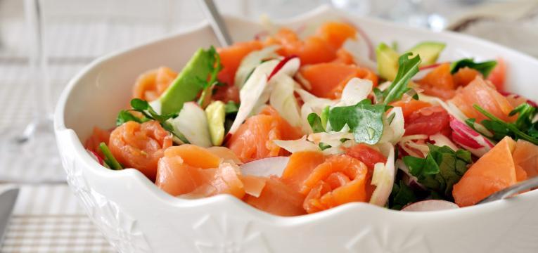 salada de salmão e dieta 3 passos receitas