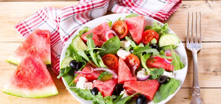 salada fresca de verão e dieta 3 passos receitas