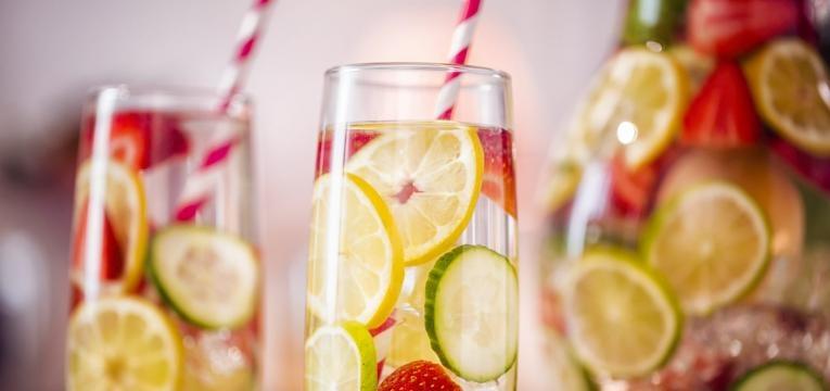 infusao e agua aromatizada