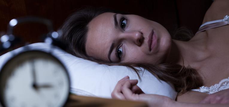 dificuldade em adormecer