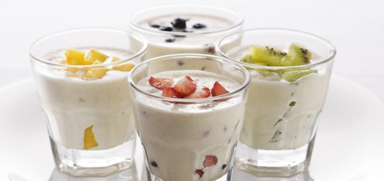 iogurte como alimentos para manter a saúde do idoso