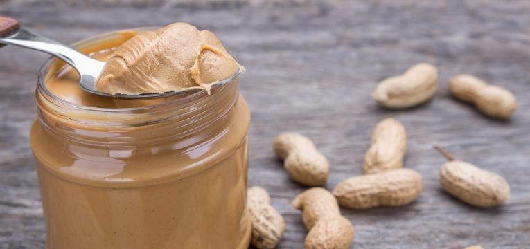 manteiga de amendoim quantidade a consumir