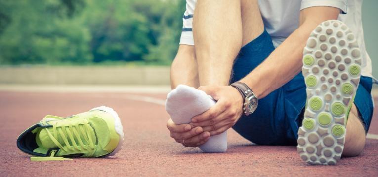 erros ao correr e utilizar calcado inadequado