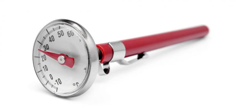 termómetro em dicas para cozinhar com panela de cozedura lenta