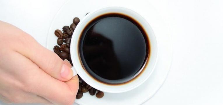 cafe e alimentos para treinar