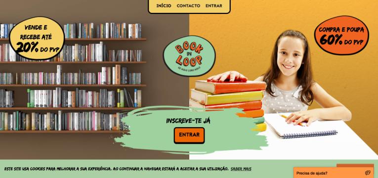 livros escolares online Book in loop