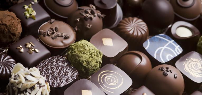 chocolates e palatinose