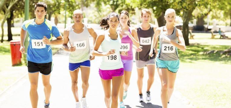 erros ao correr e competicoes em excesso