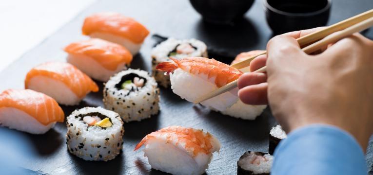 perigos de comer suhi e valor nutricional