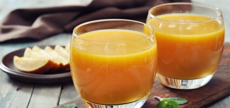 Receitas pos-treino e Smoothie de manga a laranja