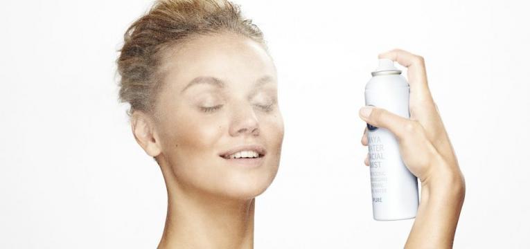 Spray de agua termal