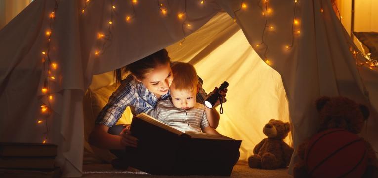 contar historias antes de dormir
