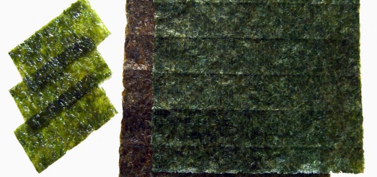 algas marinhas e alimentação japonesa para aumentar a longevidade