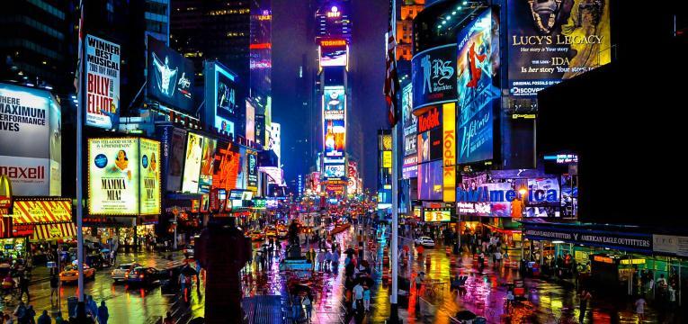 Nova Iorque e destinos de férias