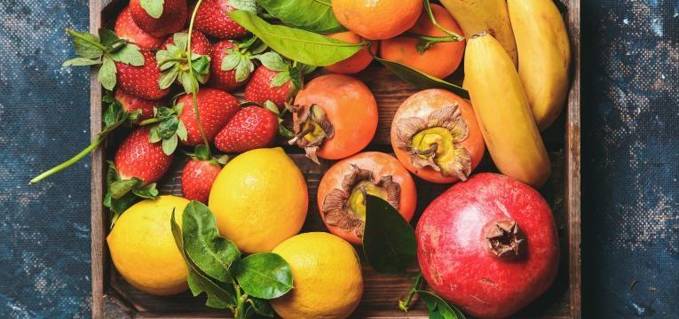 lista de compras frutas