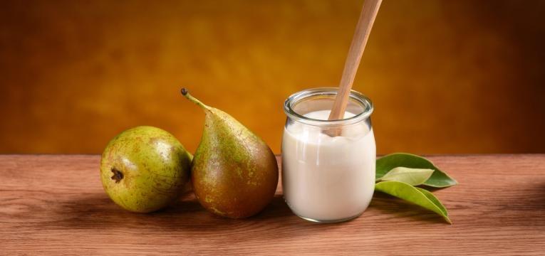 Iogurte com pera