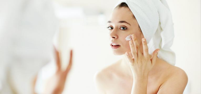 preparar a pele e como disfarcar as rugas