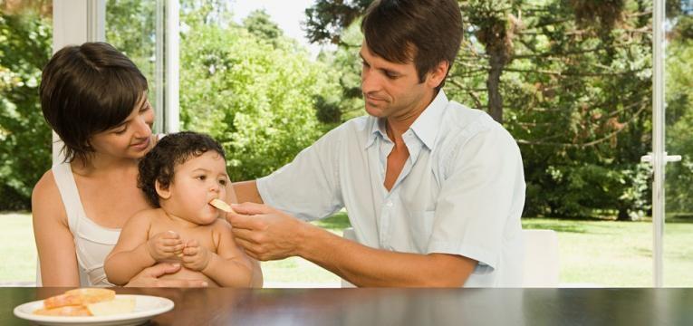 ter momentos a dois depois do nascimento de um bebe e partilhar tarefas
