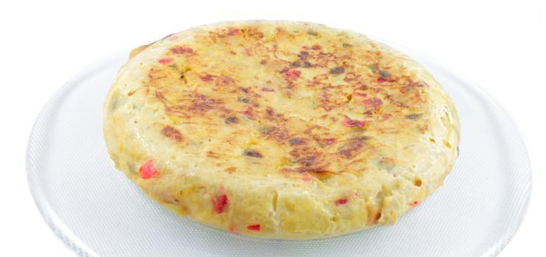 omelete colorida