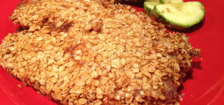salmão panado com aveia em receitas saudáveis para a páscoa
