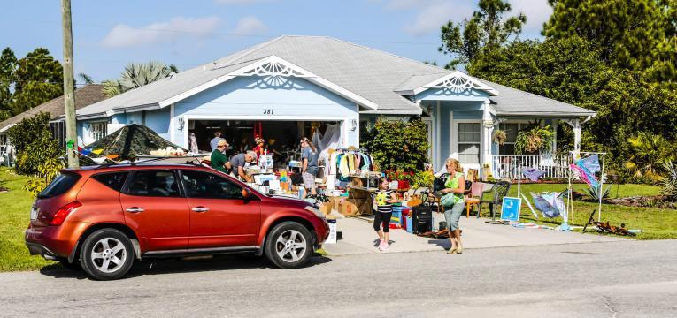 venda de garagem e atividades para fazer com criancas nas ferias
