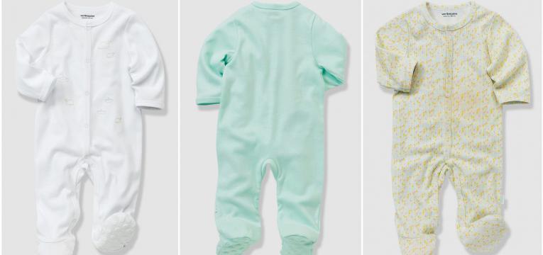 pijama de algodão em roupa de algodãp biológico para bebés