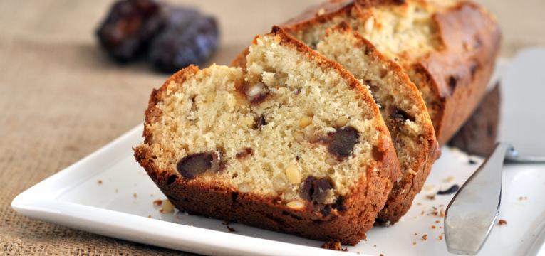 pão de tãmaras em receitas saudáveis com tâmaras
