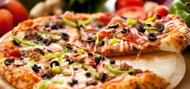 pizza pesa na carteira