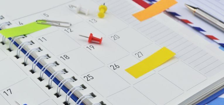 organizacao em agenda
