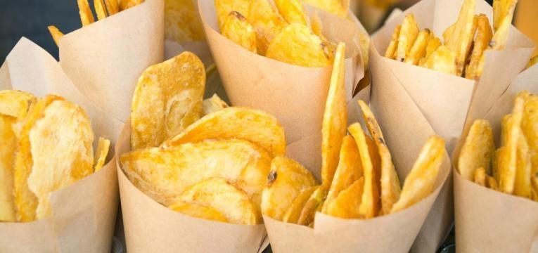 batata fritas variadas
