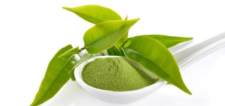 suplementos alimentares energizantes cha verde