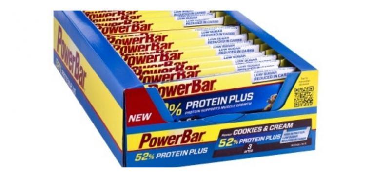 Protein Plus 52% Bar 50 g