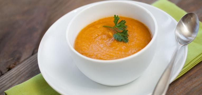 legumes e frutas na diversificacao alimentar creme de legumes