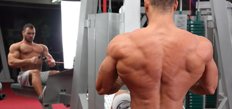 remada baixa sentado em hipertrofia para as costas