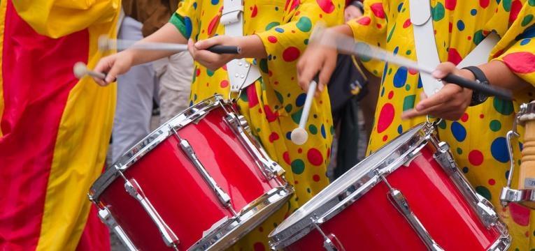 animacao no carnaval no porto