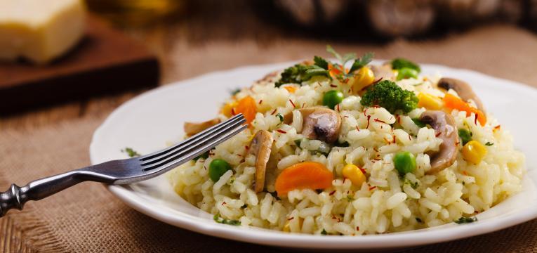 risoto de quinoa e cenoura em panela de cozedura lenta receitas
