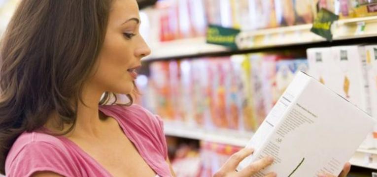 ler rótulos e dieta pós-parto
