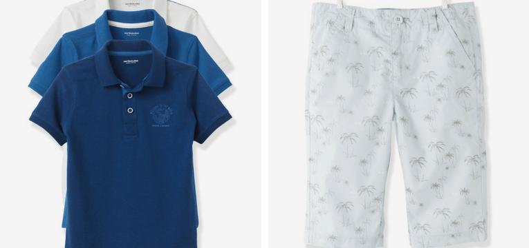 roupa ferias menino azul