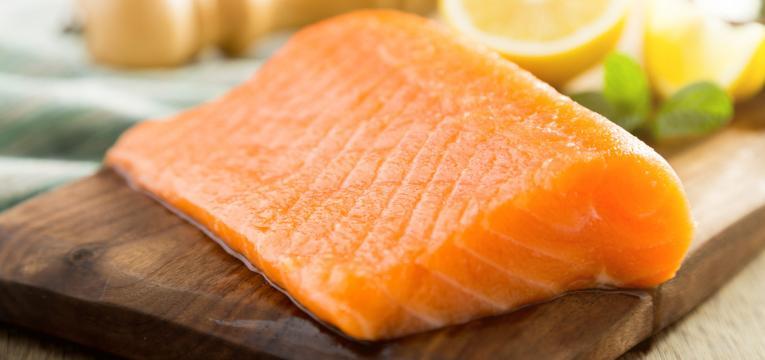 salmao e peixe gordo