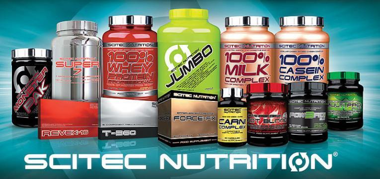 scitec nutrition em marcas de suplementos